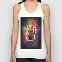 Space Kitty Unisex Tank Top