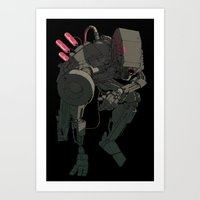 HUGE Bot Art Print