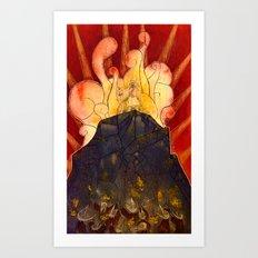 Return of the Prophet Art Print