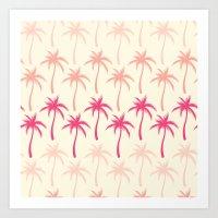 Palm Trees #2 Art Print