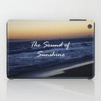 The Sound Of Sunshine iPad Case