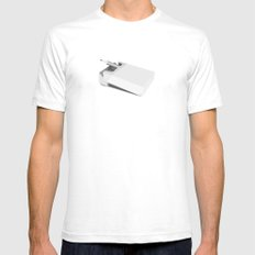 Addiction 1 White SMALL Mens Fitted Tee