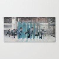 The Grid Canvas Print