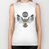 Owl King! Biker Tank