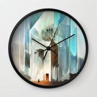 The Crystal-Flesh Hermitage Wall Clock