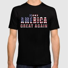 Make America Great Again SMALL Mens Fitted Tee Black