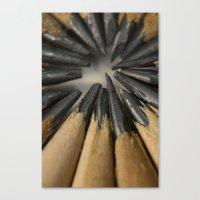 Pencils Canvas Print