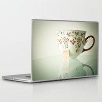 tea Laptop & iPad Skins featuring Tea by Olivia Joy StClaire