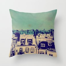 Roofs Throw Pillow