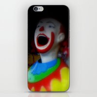 Laughing Clowns iPhone & iPod Skin