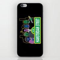 Hamsterdam Street iPhone & iPod Skin