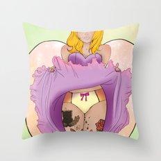 Unashamed Throw Pillow