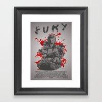 Fury Framed Art Print
