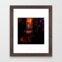 So you when you leave Framed Art Print