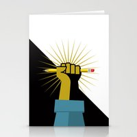 Pencil Power Stationery Cards
