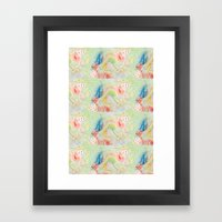 octopus monster Framed Art Print