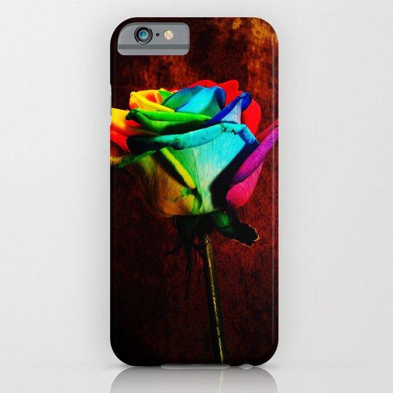Rainbow rose 2 iPhone & iPod Case