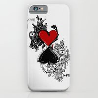 iPhone & iPod Case featuring Love Hate by Seth Beukes