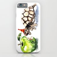 iPhone Cases featuring Turtle by Anna Shell