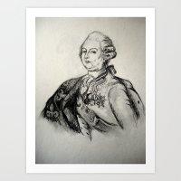 French Sketch III Art Print