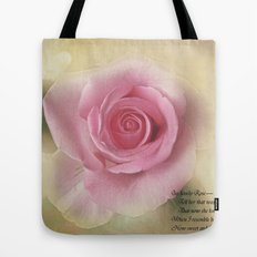 Go Lovely Rose Tote Bag