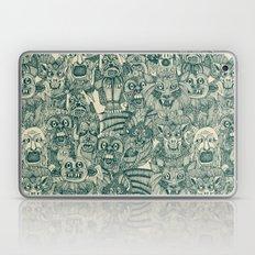 gargoyles teal Laptop & iPad Skin