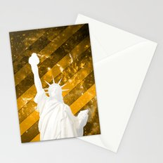 Liberty Gold Pop Art Stationery Cards