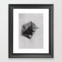 Abstraction Process Framed Art Print