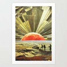 Ci vediamo a fine estate Art Print
