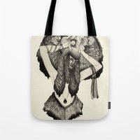 Capricorn - Black And Wh… Tote Bag