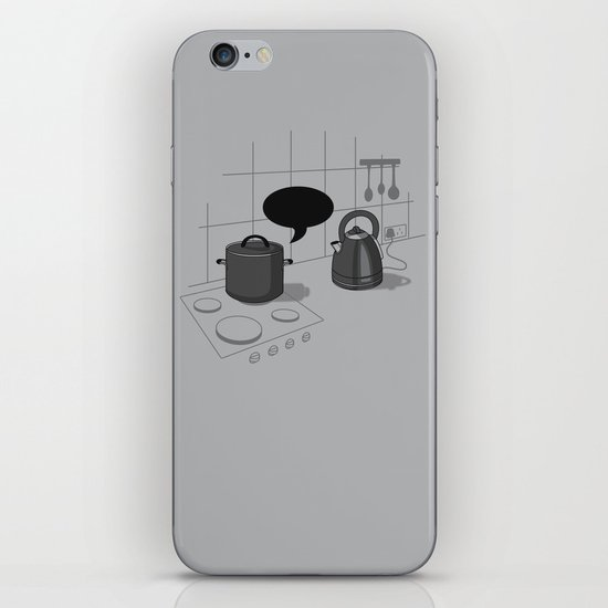 What did you call me?! iPhone & iPod Skin