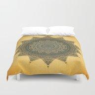 Sun Symbol Duvet Cover