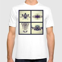 Lights Collage Mens Fitted Tee White SMALL