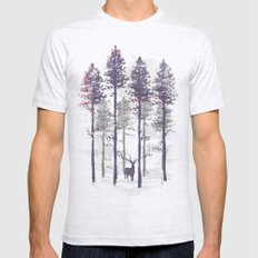 The trance of a deer Mens Fitted Tee Ash Grey SMALL