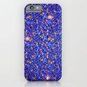 Blue Sub-atomic Lattice iPhone & iPod Case