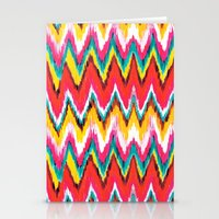 chevron Stationery Cards featuring Chevron by Aimee St Hill