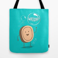 Wassoap?  Tote Bag