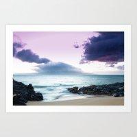 Paako Beach Treasures Art Print