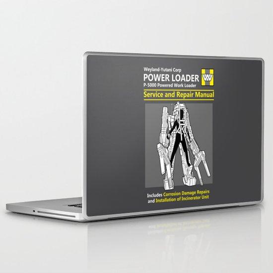 Power Loader Service and Repair Manual Laptop & iPad Skin
