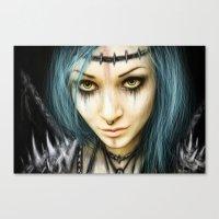 Unstoppable: A Vampiric … Canvas Print
