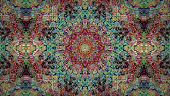 Kaleido-Aura Art Print