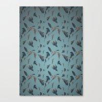 birds pattern Canvas Print