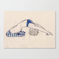 Bend No. 2: Argyle Socks Canvas Print