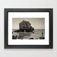 Framed Art Print featuring ELEMENT by Sébastien BOUVIER