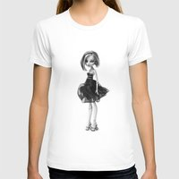 Monster High doll  Womens Fitted Tee White SMALL