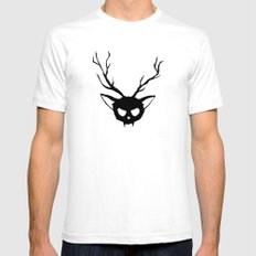 The Catalope Mens Fitted Tee White SMALL