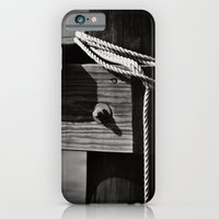 iPhone & iPod Case featuring Mooring by Rebecca A Sherman