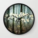 Dreams of the Sun on a Rainy Day Wall Clock