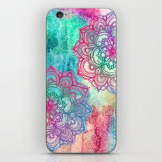 Round & Round the Rainbow iPhone & iPod Skin
