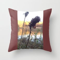 Plants by Royal Lake Throw Pillow
